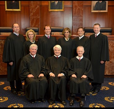Photo of Supreme Court of Texas Justices