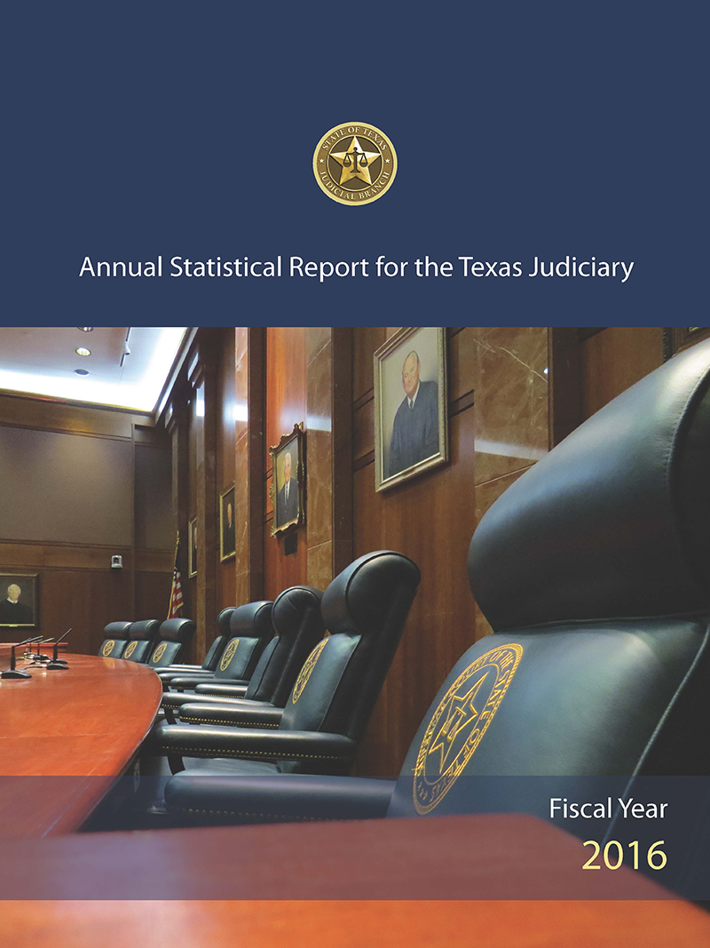 Cover of the Annual Statistical Report, FY 2016