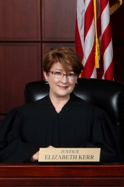 Photo of Justice Elizabeth Kerr
