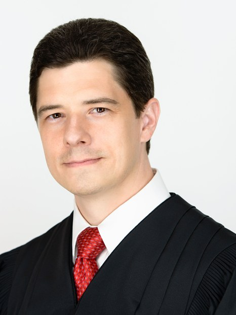 Photo of Justice Brett Busby