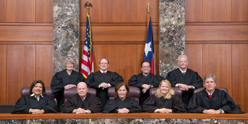 Photo of Court of Criminal Appeals Judges, 2015