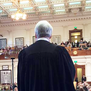 Icon (Chief Justice Hecht State of the Judiciary 84th Legislative Session)