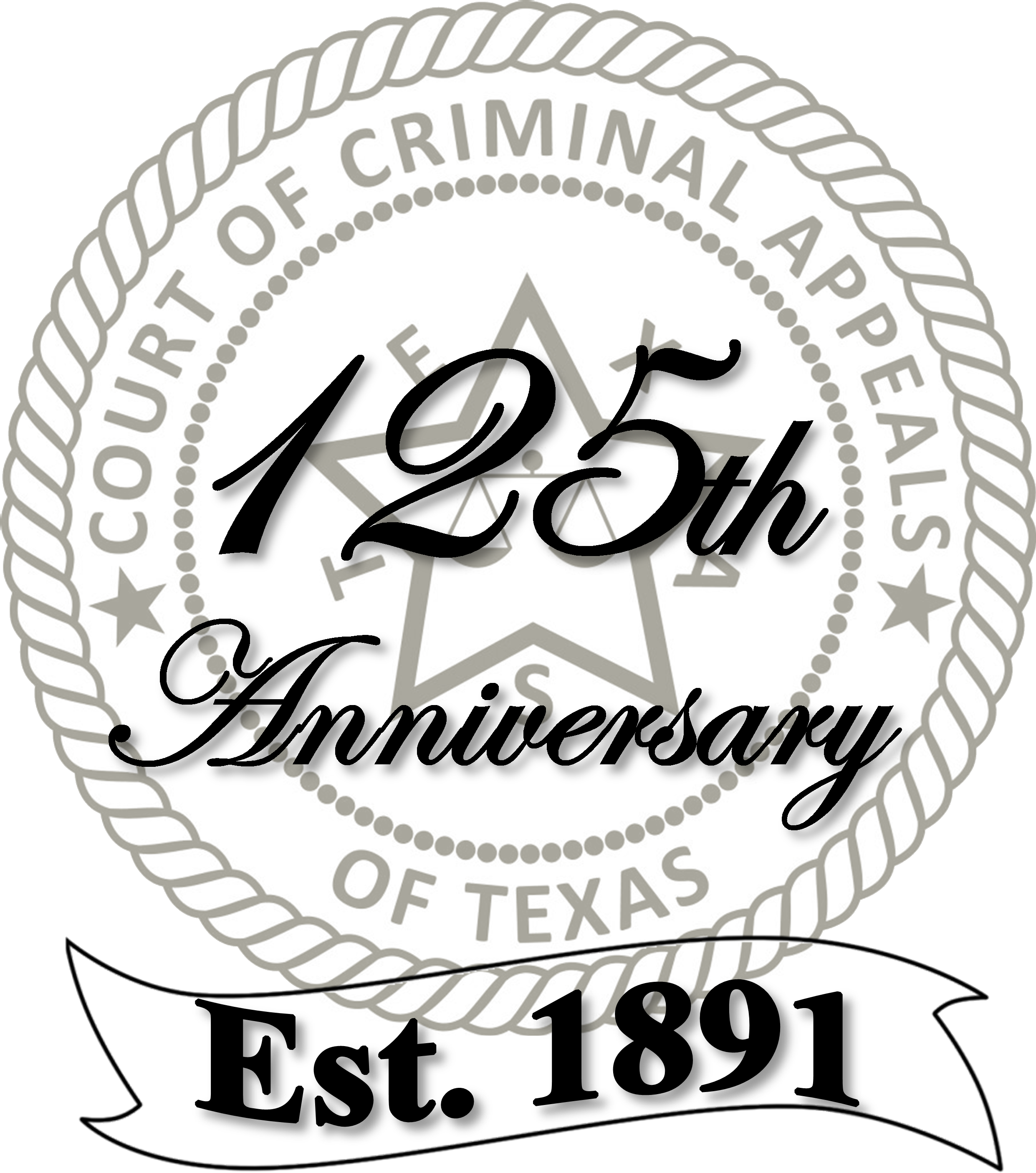 Court of Criminal Appeals special 125th Anniversary Seal