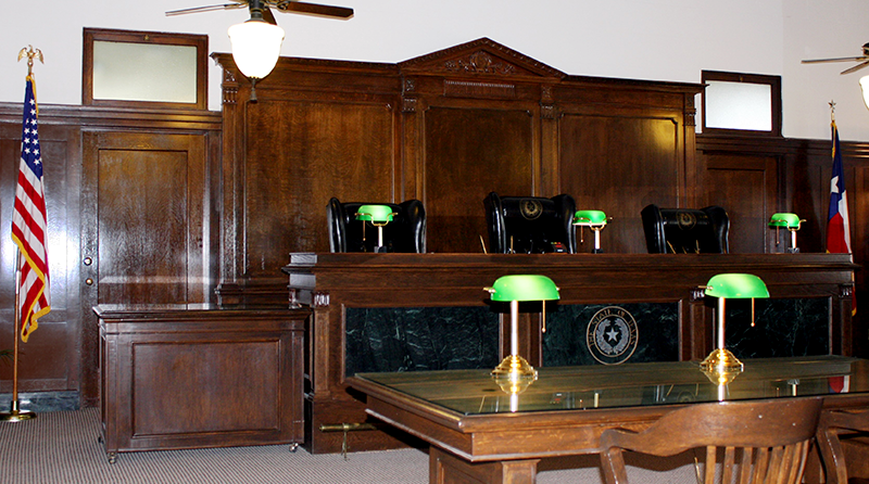 Eleventh Court of Appeals Courtroom