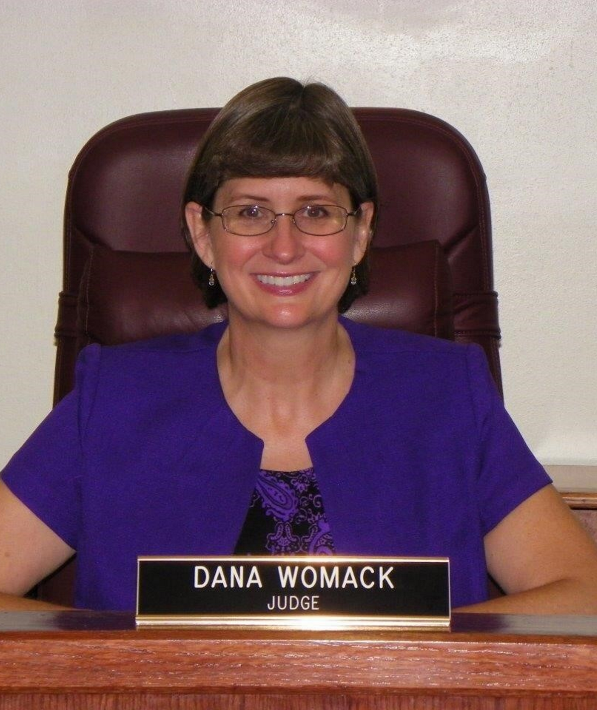 Photo of Justice Dana Womack