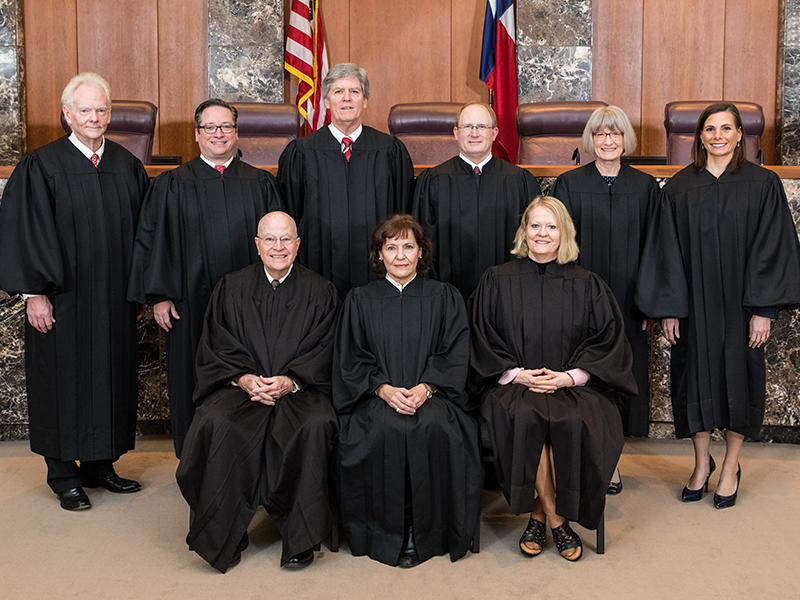 Court of Criminal Appeals Judges, January 31, 2019
