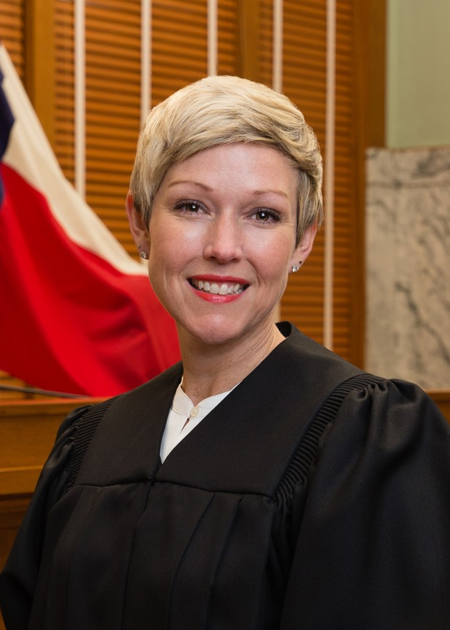 Photo of Justice Julie Countiss